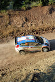 2011 WRC Rally Acropolis Stock Photography
