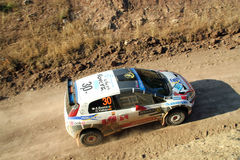 2011 WRC Rally Acropolis Stock Images