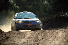 2011 WRC Rally Acropolis Royalty Free Stock Photo