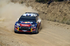 2011 WRC Rally Acropolis - Citroen DS3 Royalty Free Stock Photos