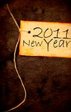 2011 year. Vintage background with 2011 new year Royalty Free Stock Image