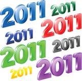 2011 year. Stock Image