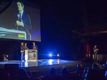 2012个总统选择法国的glbt 库存图片
