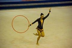 2012个杯子体操节奏性世界 免版税库存图片