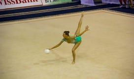 2012个杯子体操节奏性世界 库存照片