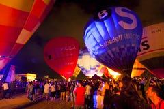 2012个气球欧洲节日 免版税图库摄影