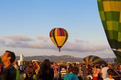 2012个气球欧洲节日 免版税库存图片