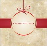 2012个看板卡圣诞节快活的葡萄酒 库存例证