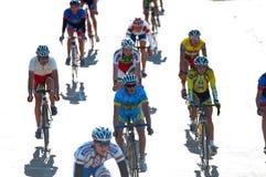 2012个自行车沙丘金黄klaipeda种族 库存照片