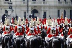 2012个颜色伦敦进军 免版税库存图片
