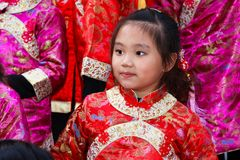 2012中国人弗朗西斯科新的游行圣年 库存图片