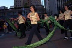2012中国人弗朗西斯科新的游行圣年 免版税图库摄影