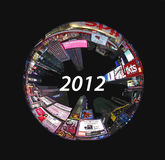 2012圈子倍 库存图片