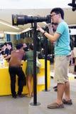 2012天nikon泰国 免版税库存照片