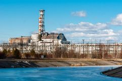 2012年切尔诺贝利行军核工厂次幂 库存照片
