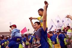 2012年北京节日国际运行中 免版税库存照片