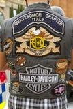 2012年巴塞罗那日harley 免版税库存照片
