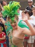 2012年狂欢节哥本哈根参与者 免版税库存照片