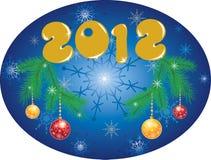 2012年背景圣诞节 库存照片