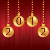 2012年背景圣诞节 库存图片
