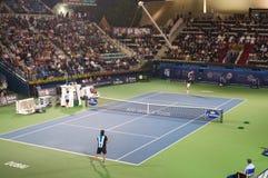 2012年迪拜网球比赛 库存照片