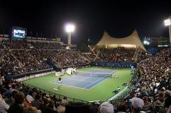 2012年迪拜网球比赛 免版税库存照片