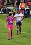 2012年非洲kirchner南kolisi的橄榄球 免版税库存照片
