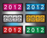 2012数字式向量 图库摄影
