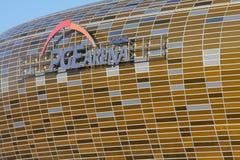 2012欧元格但斯克体育场uefa 库存照片