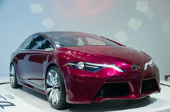 2012第33个曼谷国际汽车展示会 库存照片