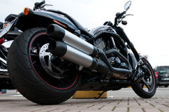 2012编译了Harley Davidson晚上标尺特殊 库存图片