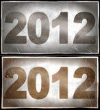 2012 år royaltyfri illustrationer