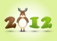 2012 år Arkivfoton