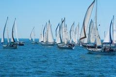 2012 łódkowatych dobrych starych regatta fotografia stock