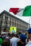 2012 świętowania euro włoch Zdjęcia Royalty Free