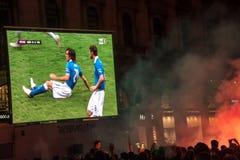 2012 świętowania euro włoch obrazy stock