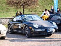 2012 ανεμιστήρες Porsche συμβάσεων Στοκ φωτογραφία με δικαίωμα ελεύθερης χρήσης