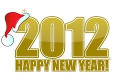 2012 καλή χρονιά Στοκ Φωτογραφία