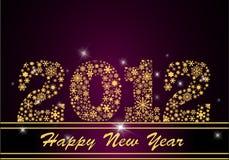 2012 καλή χρονιά Στοκ Εικόνες