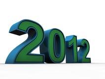 2012 πράσινο Στοκ εικόνες με δικαίωμα ελεύθερης χρήσης