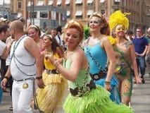 2012 συμμετέχοντες καρναβαλιού Κοπεγχάγη Στοκ φωτογραφίες με δικαίωμα ελεύθερης χρήσης