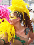 2012 συμμετέχοντες καρναβαλιού Κοπεγχάγη Στοκ Φωτογραφία