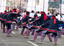 2012 χορεύοντας kaamulan οδός Στοκ εικόνες με δικαίωμα ελεύθερης χρήσης