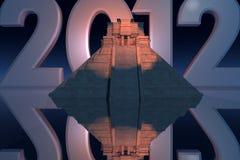 2012 майяское иллюстрация штока