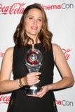 2012 приезжает талантливость jennifer garner cinemacon пожалований Стоковая Фотография RF