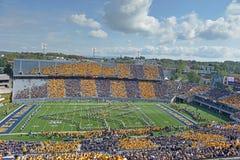 2012 футбол NCAA - Baylor @ WVU Стоковые Фото