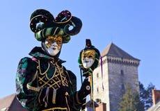 2012年威尼斯式的狂欢节 图库摄影