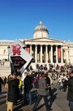 2012年读秒伦敦奥林匹克 免版税库存照片