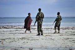 2012_10_24_AMISOM_Lido_Beach_B Royalty Free Stock Photos