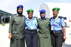 2012_12_12_AMISOM_Female_Peacekeepers' Conference-12 Stock Image